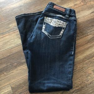 Mid Rise Bootcut Rock & Roll Cowgirl Jeans 27x30
